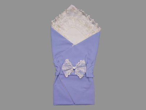 Комплект на выписку 5 пред. барби, цвет голубой 5-KM004-BB