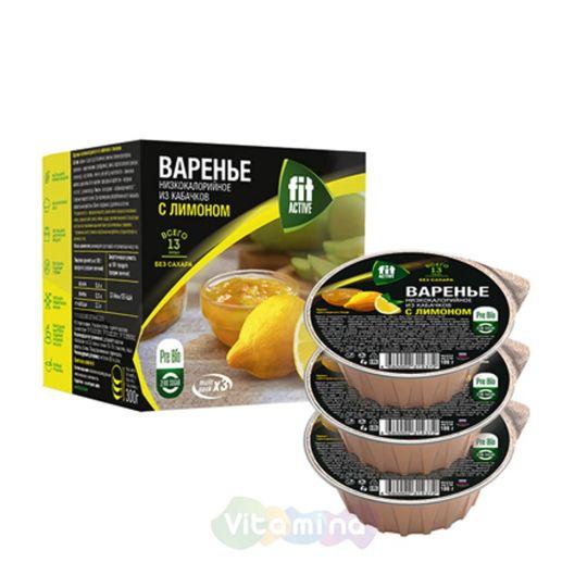 Fit Parad Варенье из кабачков с лимоном, 300 гр.