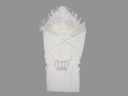 Комплект на выписку 5 пред. барби, цвет белый, корона 5-KM004-BB