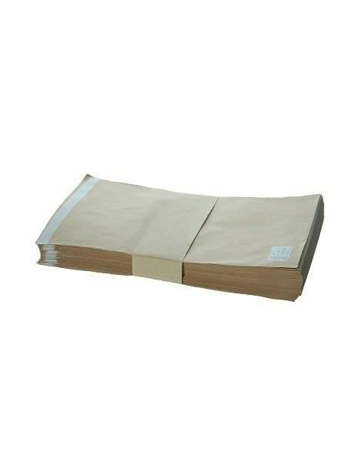 Крафт-пакеты самоклеящиеся 10х20 см; (упаковка 100 шт.)