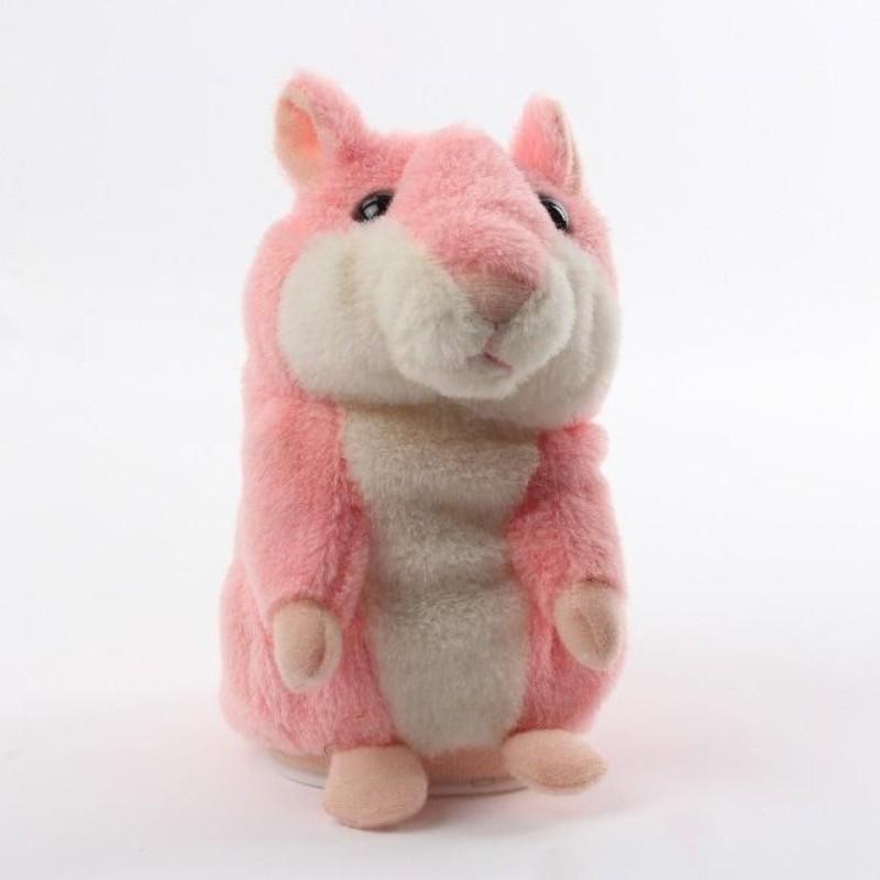 Говорящий хомяк - повторюшка, Розовый