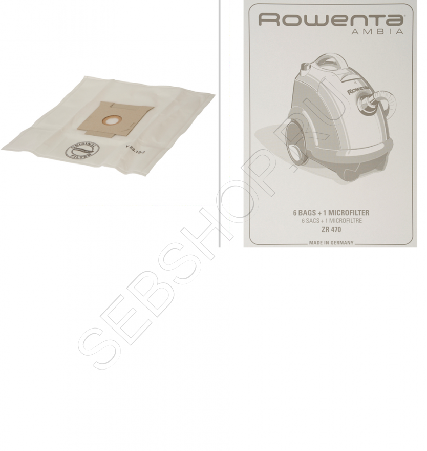 Мешки для пылесосов ROWENTA (Ровента) AMBIA  . Артикул ZR470