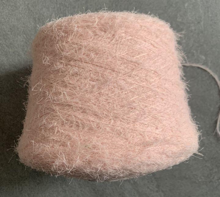 Пряжа-травка Pinori filati Spaghetti цвет светло-розовый