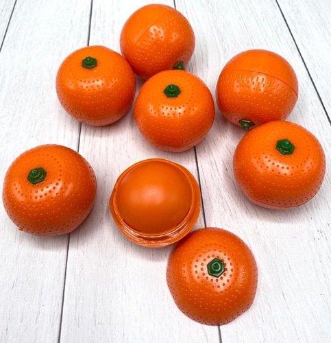 Увлажняющий, смягчающий и питающий кожу бальзам для губ Апельсин (1301)