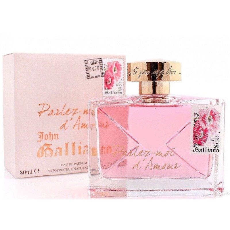 Парфюмерная вода John Galliano Parlez-moi d'Amour 80 мл (Sale)