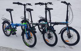 Складной легкий велосипед Stels Pilot 630 MD 20