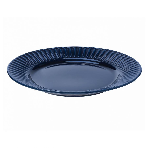 STRIMMIG СТРИММИГ, Тарелка, каменная керамика синий, 27 см - 804.263.82