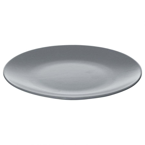 DINERA ДИНЕРА, Тарелка десертная, серо-синий, 20 см - 204.114.73