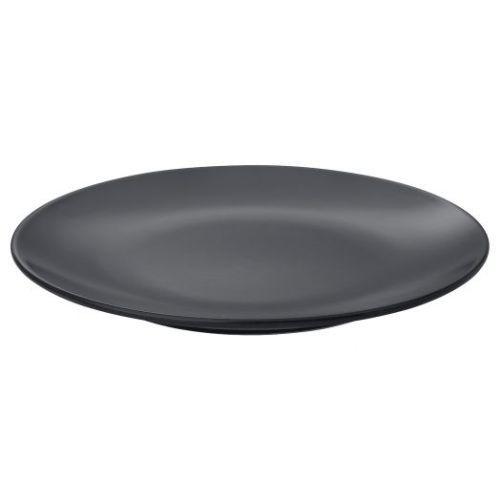 DINERA ДИНЕРА, Тарелка десертная, темно-серый, 20 см - 804.239.96