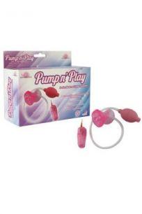 Вакуумная помпа с вибрацией женская Howells Suction Mouth Pump розовая