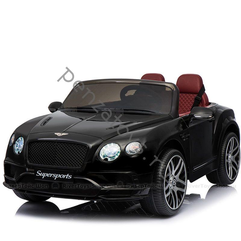 Двухместный детский электромобиль BENTLEY CONTINENTAL SUPERSPORTS JE1155