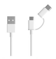 Кабель 2in1 USB Type-C/Micro Xiaomi ZMI 30см (AL511) (Белый)