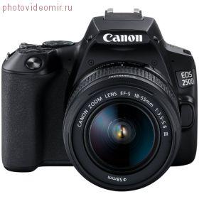 Зеркальный фотоаппарат Canon EOS 250D kit 18-55 stm