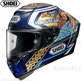 Шлем Shoei X-Spirit 3 Marquez Motegi 3