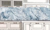 Наклейка на кухонный фартук - Хрусталь | интерьерные наклейки