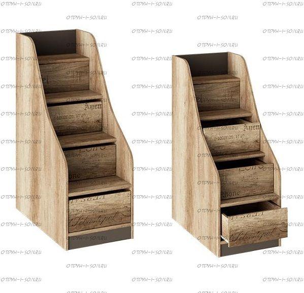 Лестница приставная с ящиками Пилигрим ТД-276.11.12 (47х85х121)