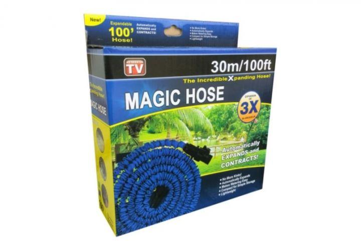 Шланг magic hose с распылителем - это чудо шланг для любых видов работ.
