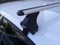 Багажник на крышy Audi A6 IV (C7) 2011-2018, Атлант, аэродинамические дуги, опоры Е