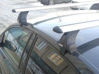 Багажник на крышу Audi A6 IV (C7) 2011-2018, Атлант, крыловидные дуги, опора Е