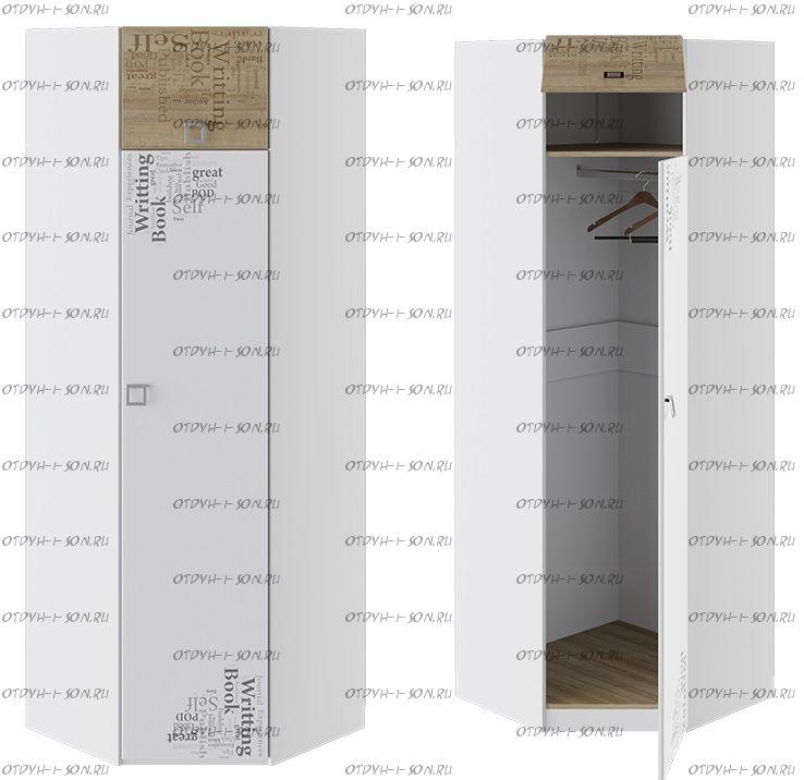 Шкаф угловой Оксфорд ТД-139.07.23 (76х76х220,3)