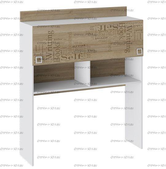 Надстройка Шкаф настольный Оксфорд ТД-139.15.11 (116х35х139)