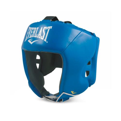 Шлем для любительского бокса Everlast Amateur Competition PU L син. артикул 610406-10 PU