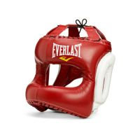 Шлем для бокса Everlast MX Headgear M RD/WHT. артикул 310200