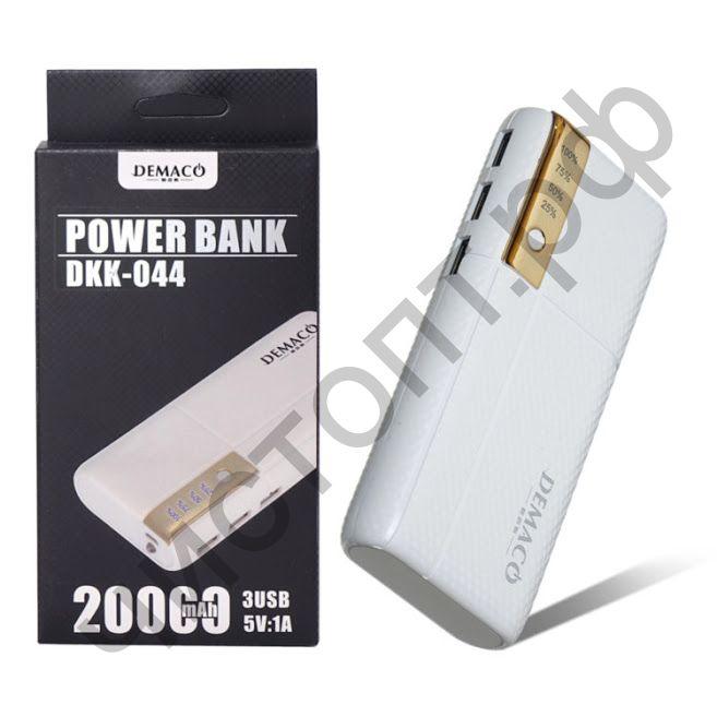 Моб. заряд. устрой. Demaco DKK-44 20000mAh цветные Power Bank реплика