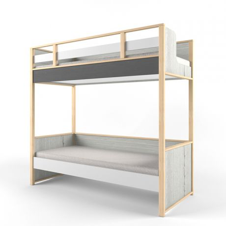 Кровать 2х-ярусная универсальная Ньютон Грэй