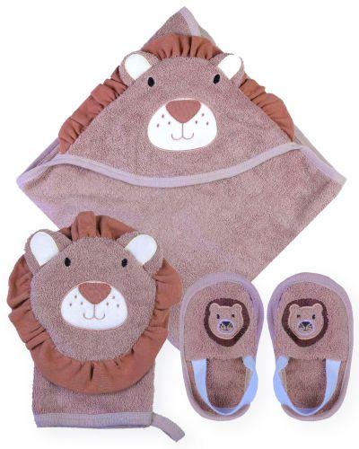 """Банный набор для новорожденных Bonito """"Лев"""""""
