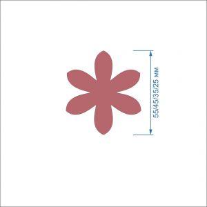 `Заготовка ''Цветок-3'' , фетр 1 мм