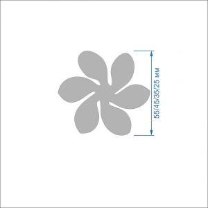 `Заготовка ''Цветок-4'' , фетр 1 мм
