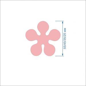`Заготовка ''Цветок-6'' , фетр 1 мм