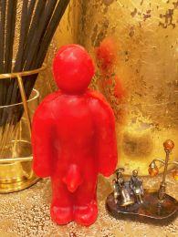 Вольт (Кукла Вуду)мужчина  Красная Воск