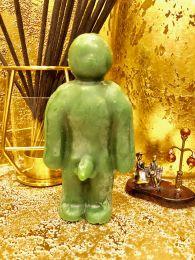 Вольт (Кукла Вуду)мужчина Зеленая Воск