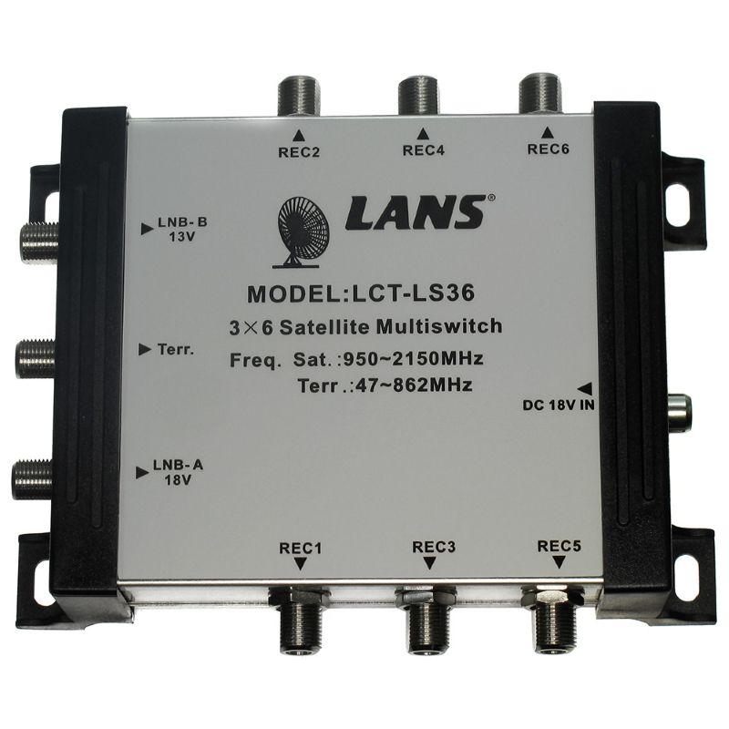 Мультисвитч LANS LCT LS-36