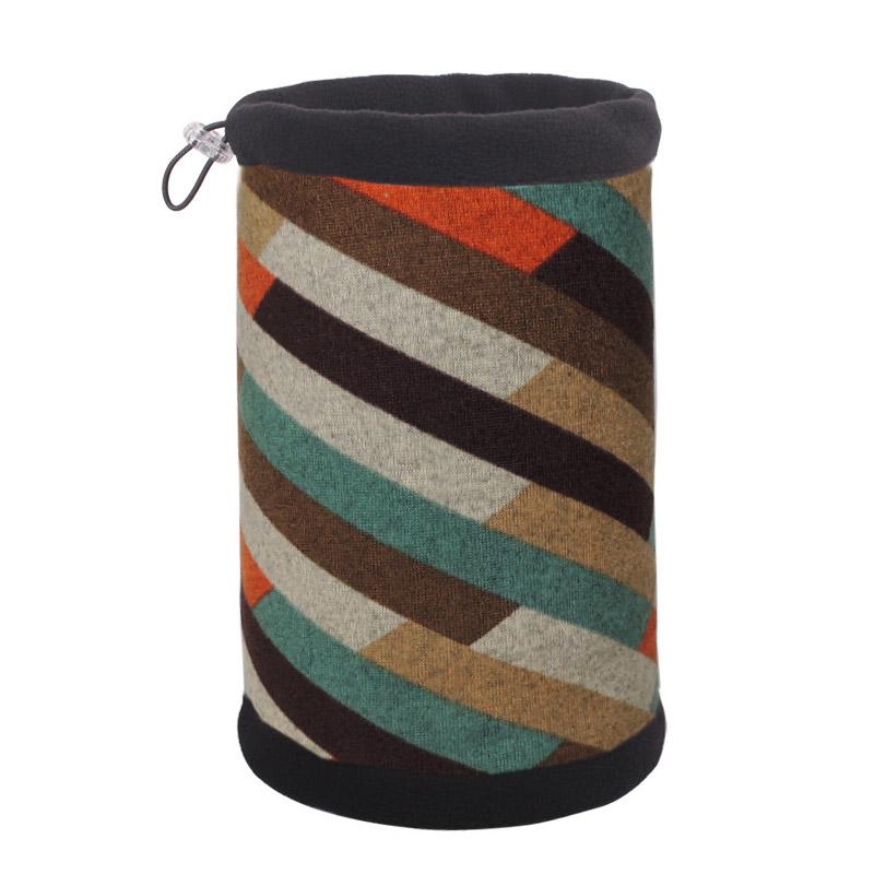 """Шапка шарф """"Цветные линии"""""""