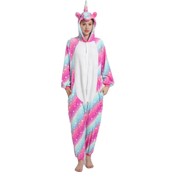 Пижама Кигуруми Единорог Звездная Радуга