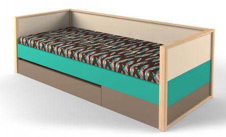 Кровать нижняя с фальшпанелью универсальная Робин Wood