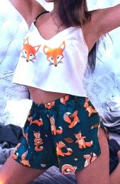 Пижамка лисичка размер 40,42,44