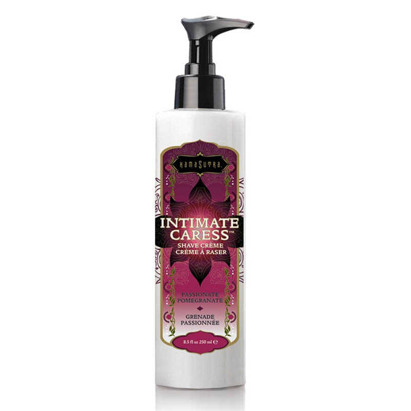 Крем для бритья с ароматом граната Intimate Caress Shaving Creme Pomegranate