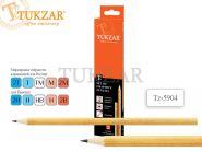 Набор чернографитных карандашей, 6 шт. (арт. tz 5904)