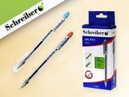 Ручка шариковая с чернилами на масляной основе, 0,7 mm, цвет чернил - синий, пр. корп. (арт. S 162)
