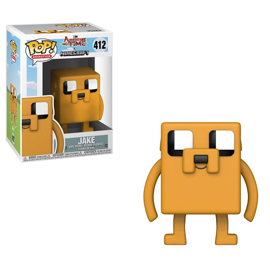 Фигурка Funko POP! Vinyl: Adventure Time/Minecraft S1: Jake 32238