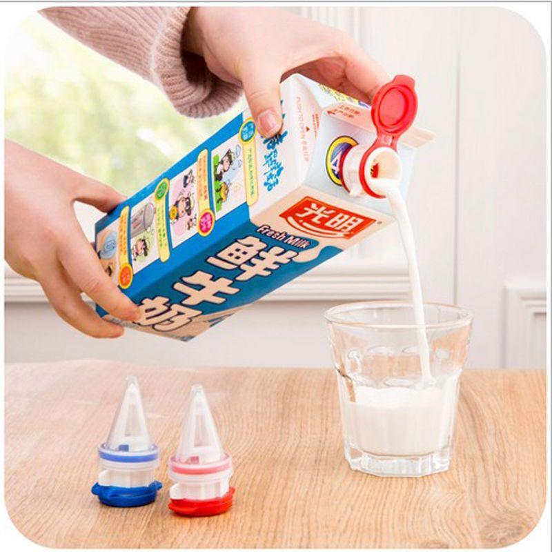 Многоразовая Крышка-Клапан Для Пакетов С Соком И Молоком Easy To, 2 Шт