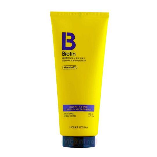Holika Holika Кондиционер с биотином для поврежденных волос Biotin Damage Care Treatment