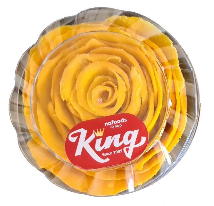 Манго сушеное Кинг в форме Роза, 400гр.
