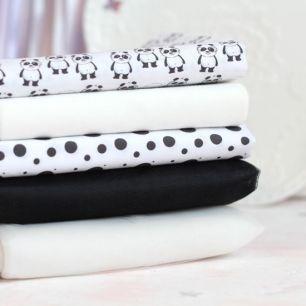 Набор тканей для творчества Милые панды