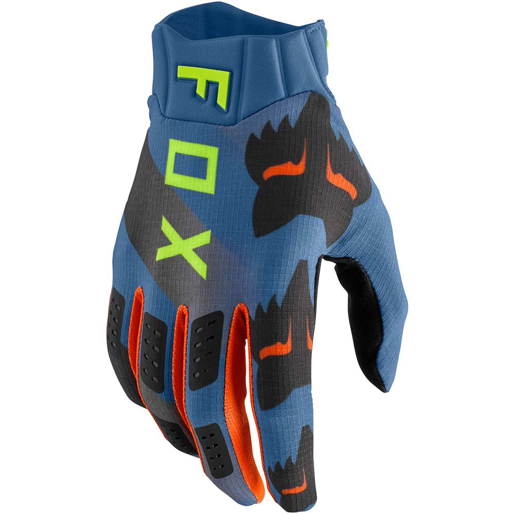 Fox Flexair Mawlr Dust Blue перчатки