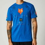 Fox  Mawlr SS Premium Tee Royal Blue Limited Edition футболка